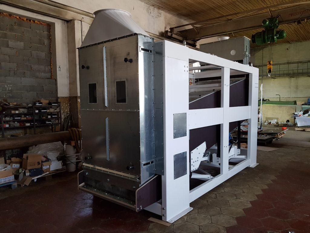 сепараторы для очистки зерна